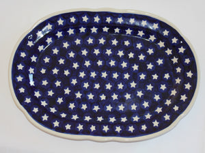 Scalloped Serving Dish