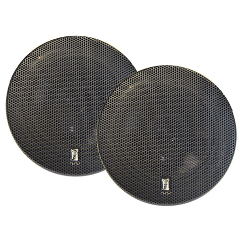 "Poly-Planar 6"" Titanium Series 3-Way Marine Speakers - (Pair) Black [MA8506B]"