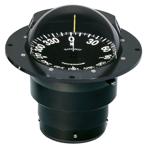 Ritchie FB-500 Globemaster Compass - Flush Mount - Black - 12V - 5 Degree Card [FB-500]