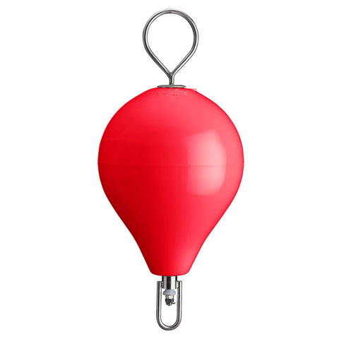 "Polyform Mooring Buoy w/SS 13.5"" Diameter - Red [CM-2SS-RED]"