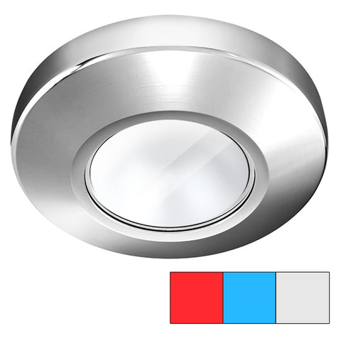 i2Systems Profile P1120 Tri-Light Surface Light - Red, Cool White  Blue - Chrome Finish [P1120Z-11HAE]