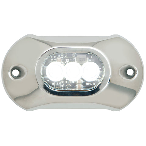 Attwood Light Armor Underwater LED Light - 3 LEDs - White [65UW03W-7]