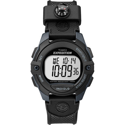 Timex Expedition Chrono/Alarm/Timer Watch - Black [TW4B07700JV]