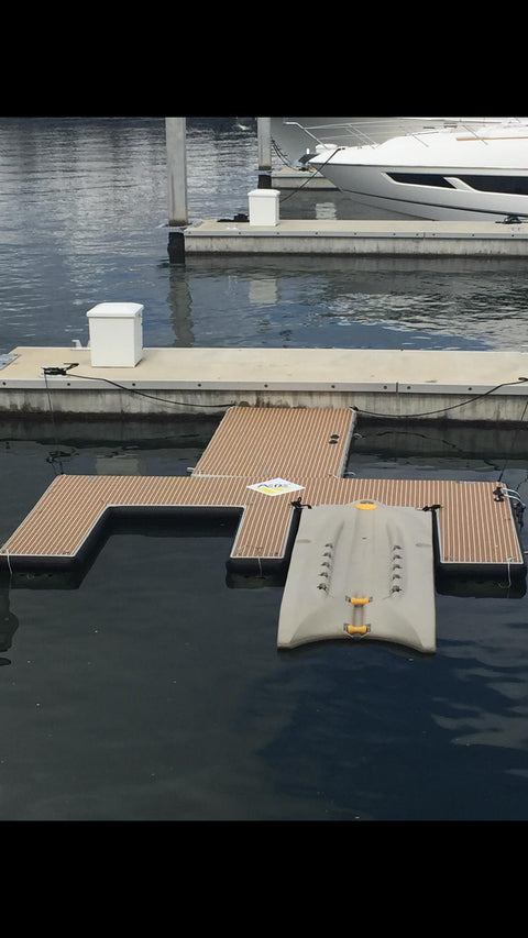 Inflatable Dock / Fun Platform, 6' x 12'