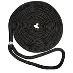 "New England Ropes 3/8"" X 15 Nylon Double Braid Dock Line - Black [C5054-12-00015]"