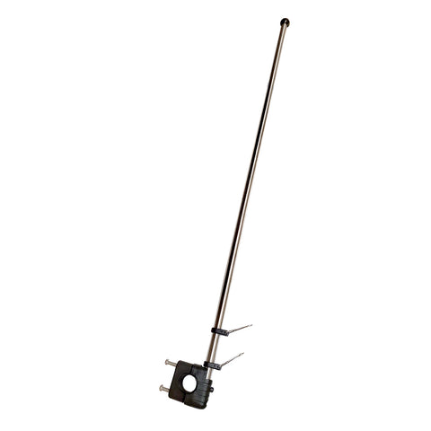 "Sea-Dog Stainless Steel Rail Mount Flagpole - 30"" [327124-1]"