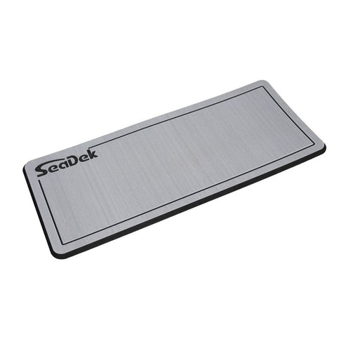"SeaDek Dual Density Helm Pad - 16"" x 39"" 20mm - Large - Storm Gray w/Black Laser SD Logo [37926-80324]"