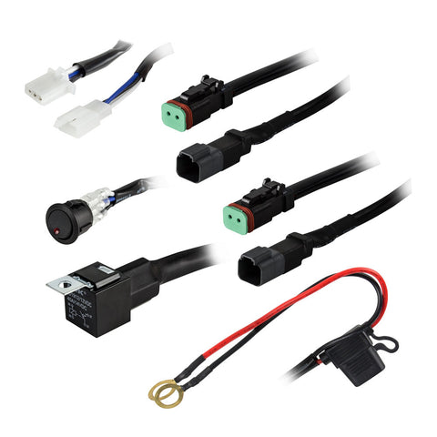 HEISE 2-Lamp Wiring Harness  Switch Kit [HE-DLWH1]