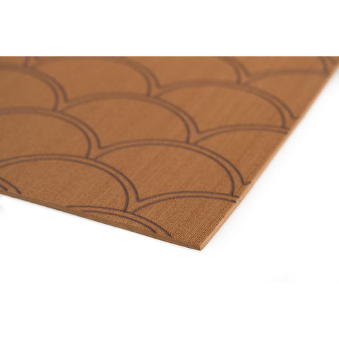 "SeaDek 40"" x 80"" 5mm Sheet Mocha Brushed Fish Scale - 1016mm x 2032mm x 5mm [23875-83800]"