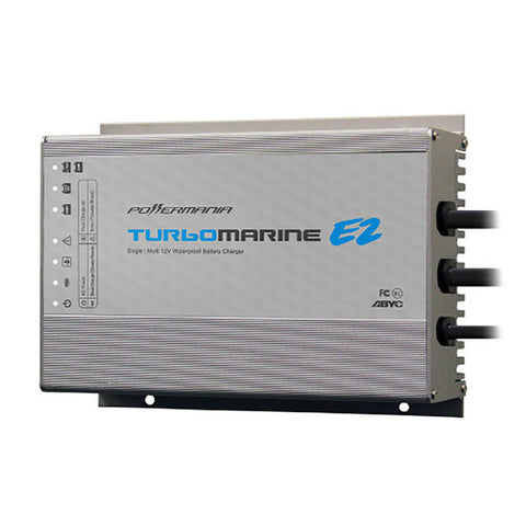 Powermania Turbo M106E2 6 Amp Single Bank 12VDC Waterproof Charger [57201]