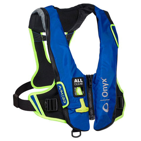 Onyx Impulse A/-24 All Clear Auto/Manual Inflatable Life Jacket - Blue [132800-500-004-21]