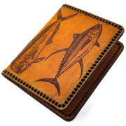 Hand Stitched Leather Wallet - Offshore Slam