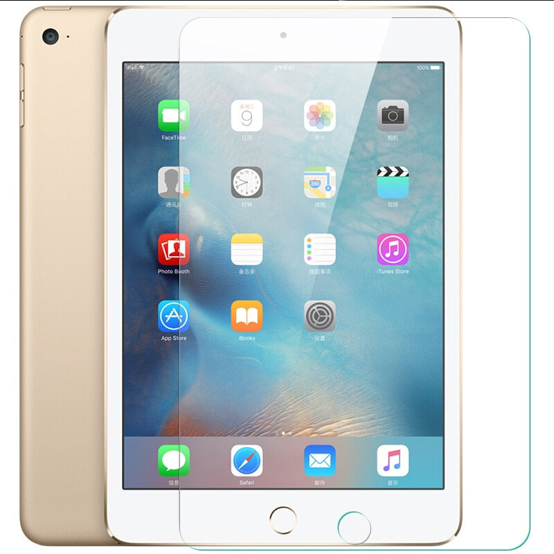 2X Tempered Glass Screen Protector Guard For iPad 4 3 2 Mini Air Pro 9.7