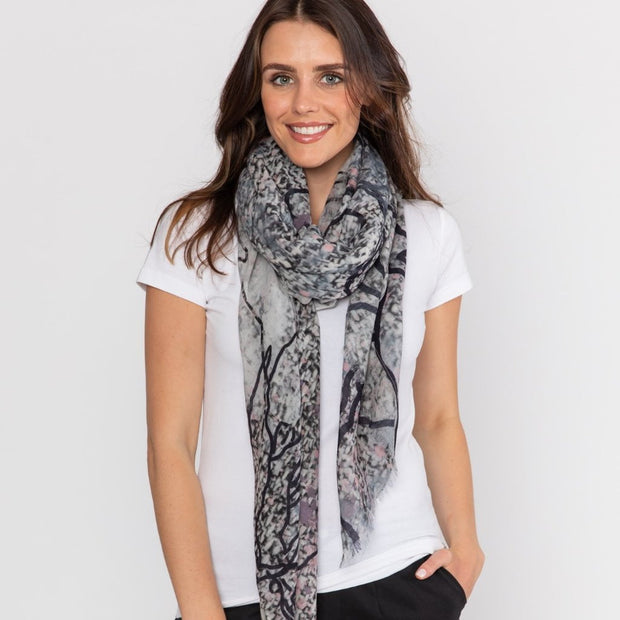 MOTION wool scarf