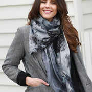 SMOKE & MIRRORS wool scarf