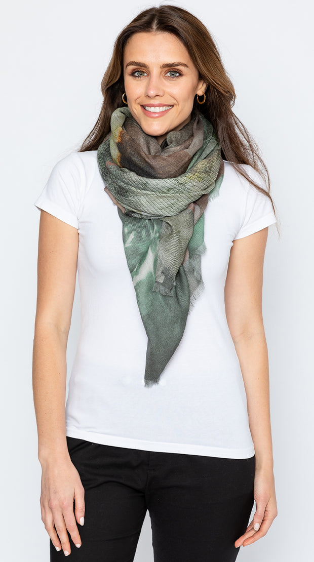 PURPOSE wool scarf