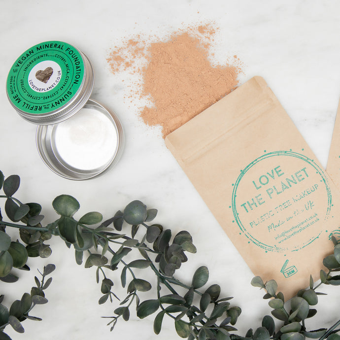 Plastic Free Packaging - How Love the Planet's Refillable Makeup Works
