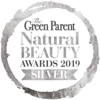 Winner of Silver Award Green Parent Magazine Natural Beauty Awards 2019