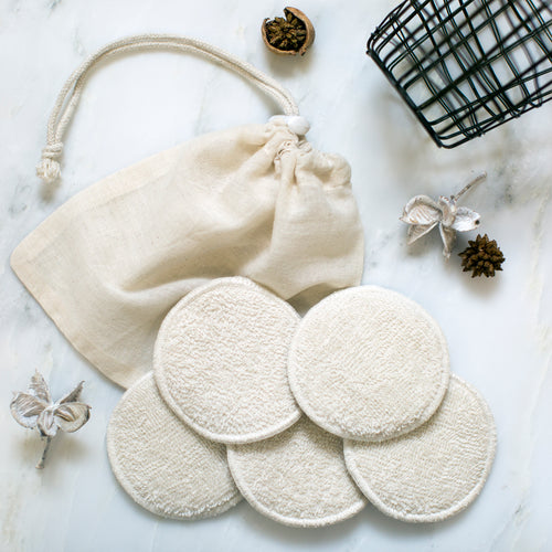 washable cleansing pads
