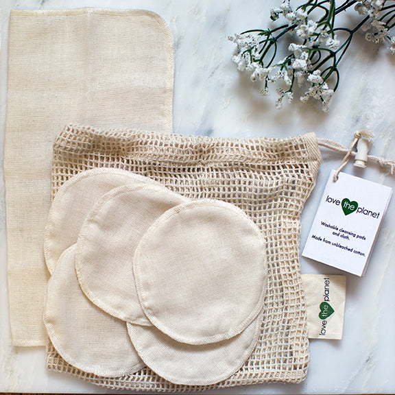 Muslin cleansing Rounds and Cloth | ECO friendly products