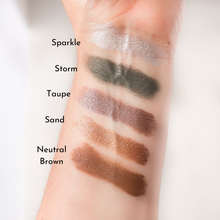 Load image into Gallery viewer, Love-The-Planet-Vegan-Mineral-Eyeshadow-Swatches