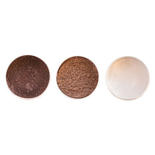 Vegan Mineral Eyeshadow Trio - Warm Classics