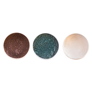 Vegan Mineral Eyeshadow Trio - Cool Classics - £24