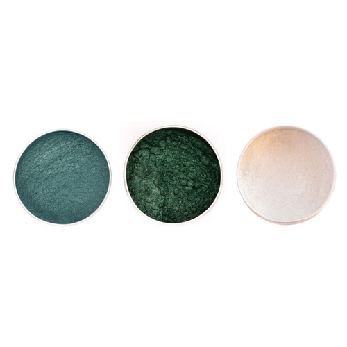 Vegan Mineral Eyeshadow Trio - Planet Earth