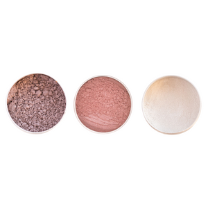 Vegan Mineral Eyeshadow Trio - Soft and Subtle