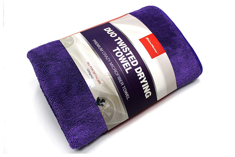 ShineMaster Duo Twisted Loop Drying Towel 60x90cm- 1200GSM Purple