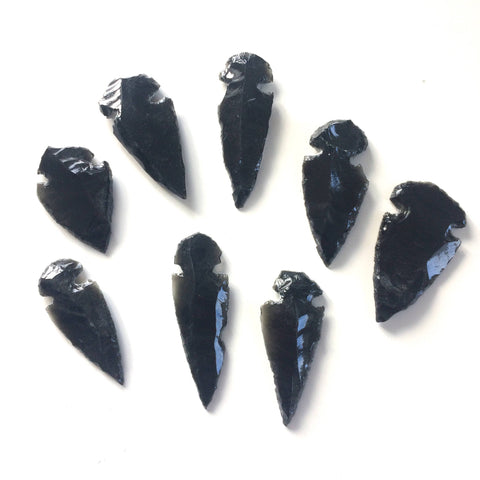 obsidian arrow head dragon glass 1 piece G.O.T