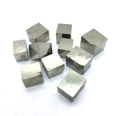 Pyrite natural cube raw crystal 1 piece