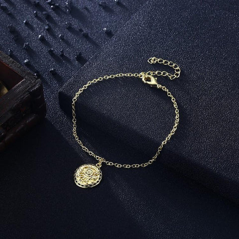 The Power of the Sun Bracelet in 18K Gold Plated - myfoxyfarmdesigns.com