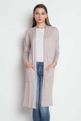 Long Sleeve Pocket Cardigan - myfoxyfarmdesigns.com