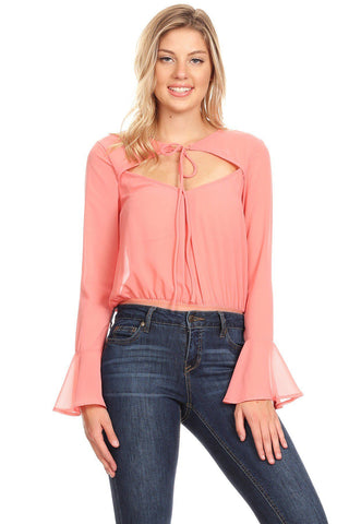 Solid Bodysuit In A Relaxed Fit - myfoxyfarmdesigns.com