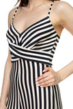 Stripe Front Twist Jumpsuit - myfoxyfarmdesigns.com