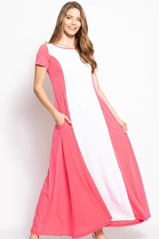 Breezy Summer Maxi Dress - myfoxyfarmdesigns-com -
