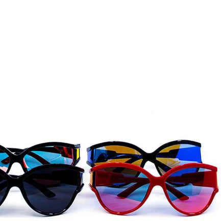 Casual Poly Carbonate Wrap Sunglasses - myfoxyfarmdesigns.com