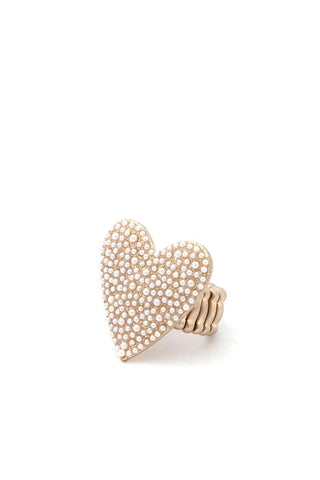 Heart Shape Ring - myfoxyfarmdesigns.com