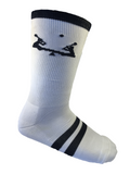 Lacrosse Playground Essential White SeeSaw Mid Calf Socks