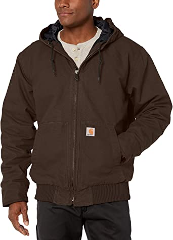 Carhartt 104050-DKB Washed Duck Insulated Active Jacket