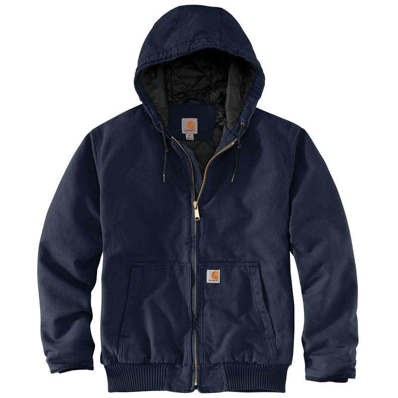 Carhartt 104050-I26 Washed Duck Insulated Active Jacket