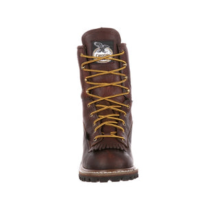 Waterproof Steel Toe Logger<br>Georgia G7313