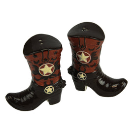 Cowboy Boots Salt and Pepper Shakers<br>River's Edge 2063