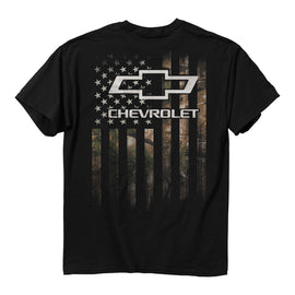 Chevy Camo Flag T-Shirt<br>Buck Wear 3496