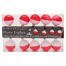 10 Piece Bobber Party Light Set<br>River's Edge 358