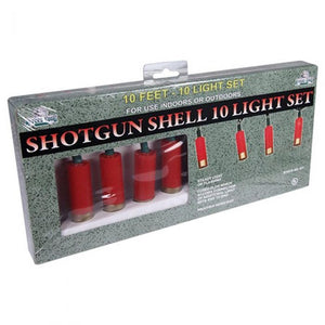 Shotgun Shell 10 Pc Light Set<br>River's Edge 431
