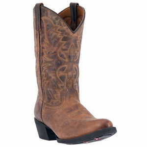 Birchwood Tan Western Boot<br>Laredo 68452