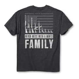 NRA Man's Family T-Shirt