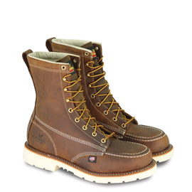 Thorogood 804-4378 American Heritage 8 InchSteel Moc Toe Work Boot